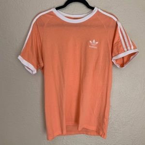 Peach Adidas Women's Top Size small